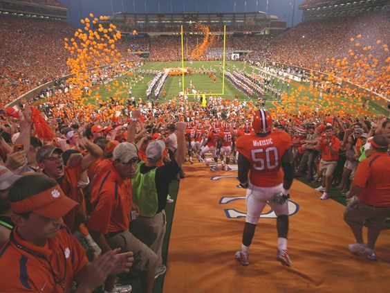 Improving Tailgating Fan Experience, Fan Engagement, Clemson Fans Breed Winners