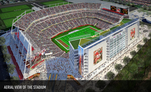 Levis Stadium Capacity >> Technology Creates New Era In Fan Experience At Levi S Stadium Gameday