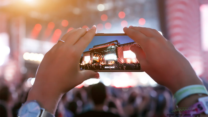 data driven concert experience